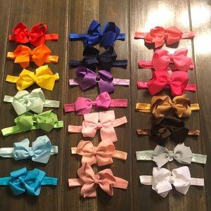 Other - Toddler Girls Headbands Set Of 21
